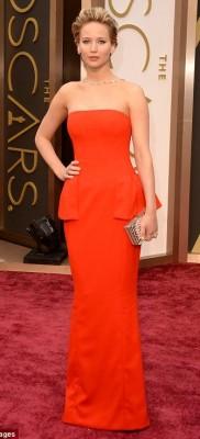 Jennifer Lawrence Oscars 2014