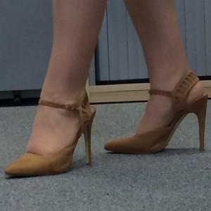 "Gillian Lewis: Spectrum blog post ""Women who wear 4 inch stiletto heels - I salute you"""