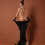 Kim Kardashian's Bottom