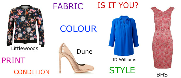 What to buy in the sales - is it you?  The Colour Me Beautiful newsletter on Gillian Lewis: Spectrum's website