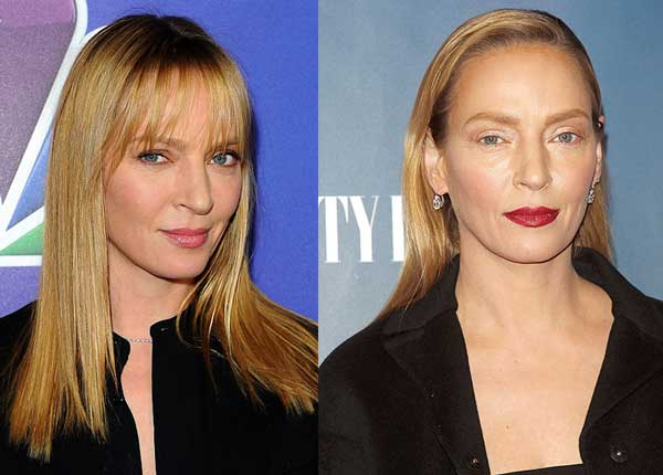 Uma Thurman - Were people too quick to judge her makeup?  A blog post by Gillian Lewis: Spectrum, a Colour Me Beautiful trained Image Consultant and Self-Image Coach