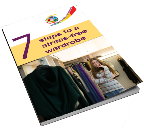 7 Steps to a Stress-Free Wardrobe - your free guide by Gillian Lewis: Spectrum - a Colour Me Beautiful trained Image Consultant
