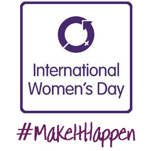 #MakeItHappen - International Womens Day 2015, a blog post by Self-Image Coach, Gillian Lewis of Spectrum Coaching and Consultancy