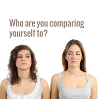 Does comparing yourself affect your confidence?